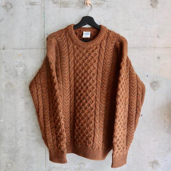 Vintage Fisherman Knit Brown