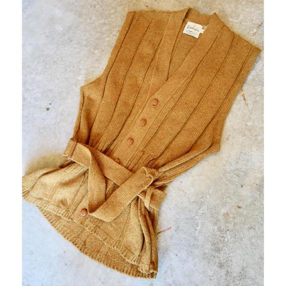 Vintage Long  Knit Vest