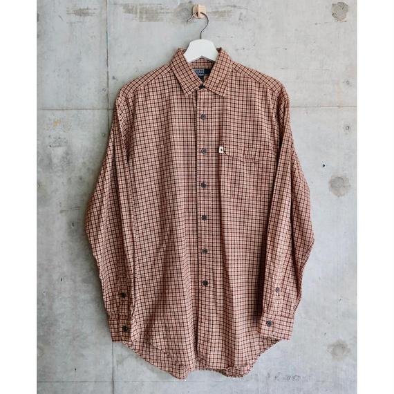 Ralph Lauren Check Shirt Brown