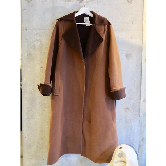 Vintage Made in  France Design Maxi Wool Coat
