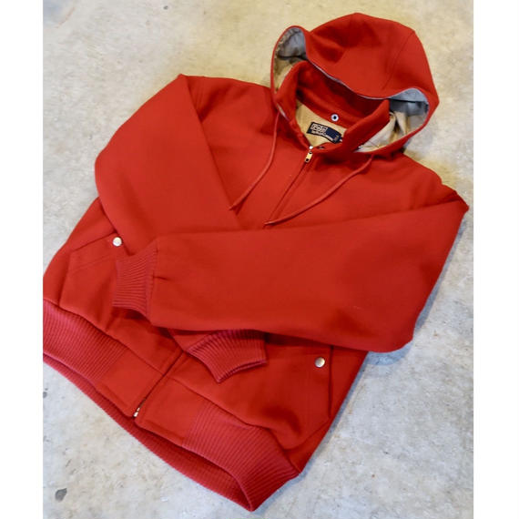 90's Ralph Lauren Hoodie Wool Jacket For Women