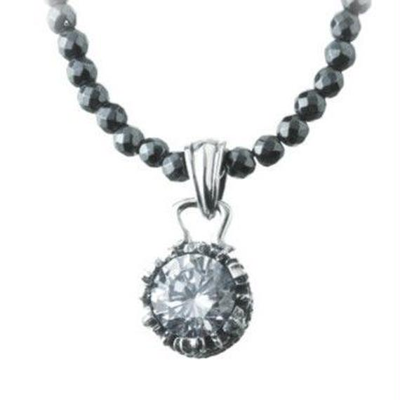 [Artemis Classic-pendant] ミニクラウンチャームWH