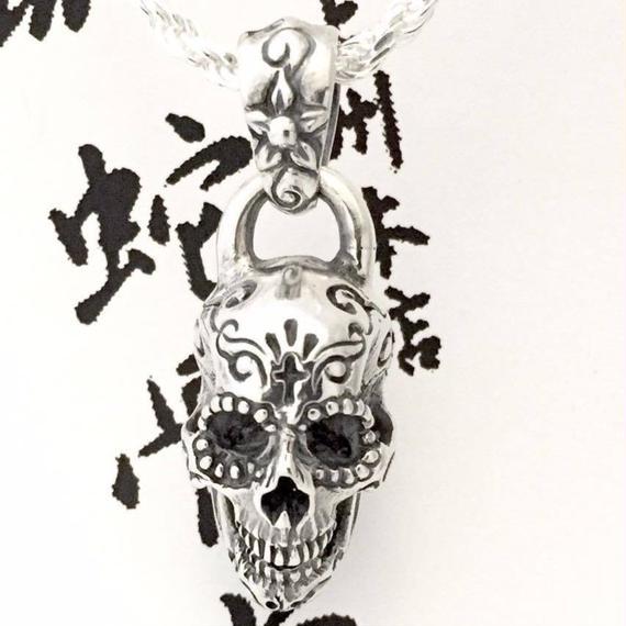 [Atelier Shima-pendant]シュガースカルペンダントトップA(クロス)