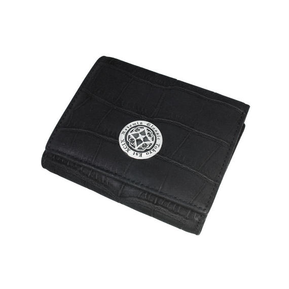 [Artemis Classic-wallet]ショートウォレットヌバッククロコスタイル