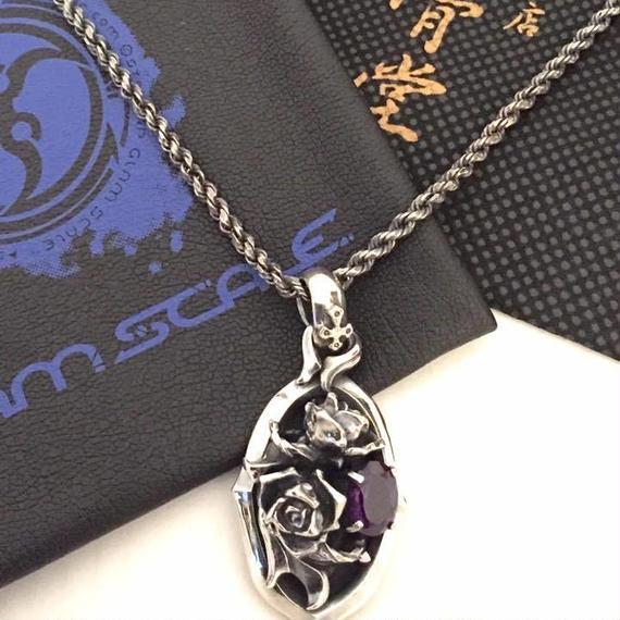 [GLAM SCALE-pendant]★蛇骨堂限定★『蛇骨堂15周年記念限定バラペンダント』(販売終了)