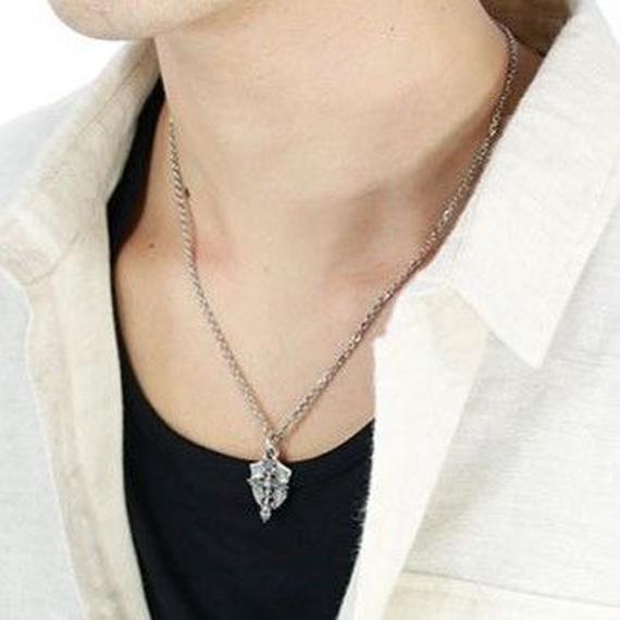 [Artemis Classic-pendant]クロスレットシールドペンダント
