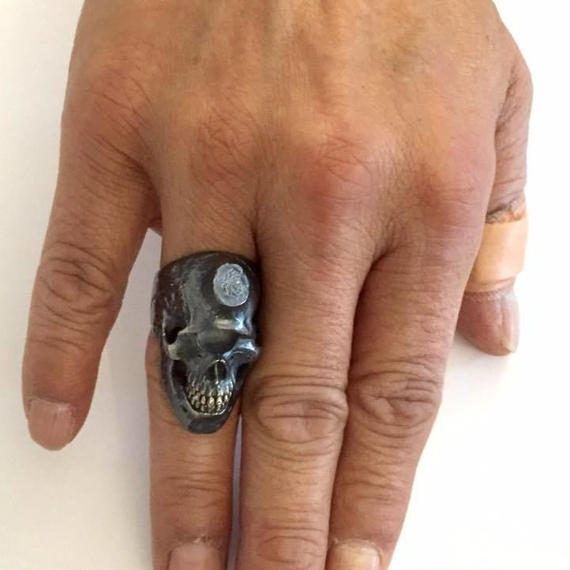 [SKURANGER-ring]Cyclops Skull Ring