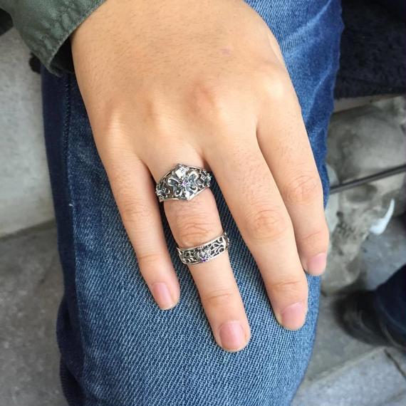 [Artemis Kings-ring]☆1点物☆★蛇骨堂限定販売★リリィクラウンリングPL