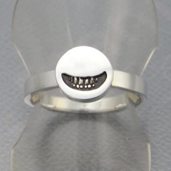 【8/5まで期間限定!】smile stamp ring 2_S[smile_mammy]