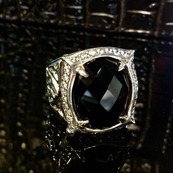 [Artemis Classic-ring]☆1点物☆★蛇骨堂限定販売★ナイトラグーンリング