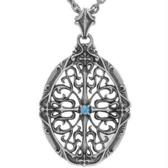 [Artemis Classic-pendant]オーバルクロスレットペンダント