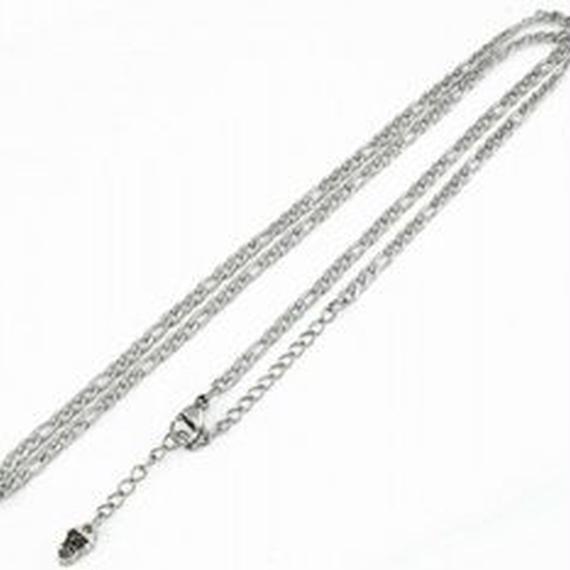 45-50cm ステンレスフィガロチェーン(3.0mm)