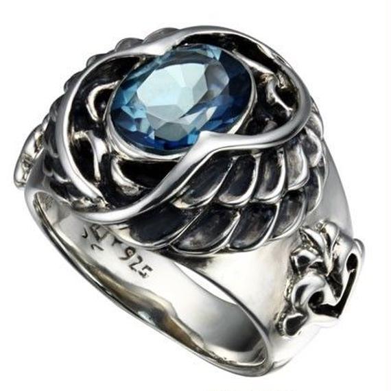 [Bizarre-ring]エンジェルシルバーリング2nd