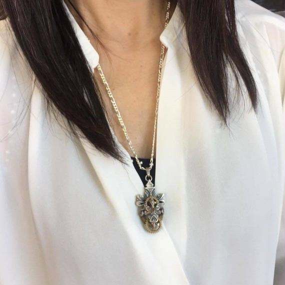 【9/30までの期間限定】チクタクトップ1(ペンダントトップ)[林檎屋]