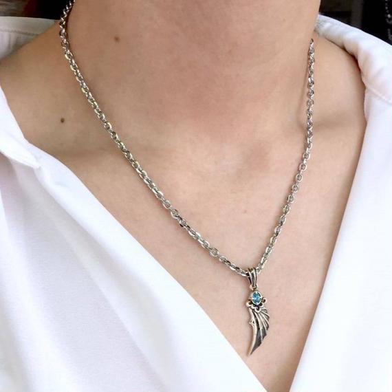 [Artemis Classic-pendant]デビルウイングペンダントBL