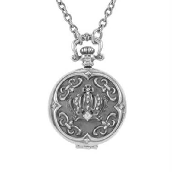 [Artemis Kings-pendant]クラウンクロックペンダント