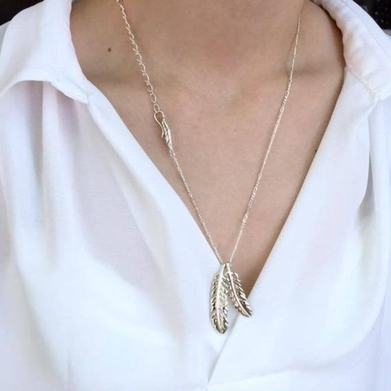 [Artemis Classic-pendant]ダブルフェザーペンダント(シリアルNo.39)