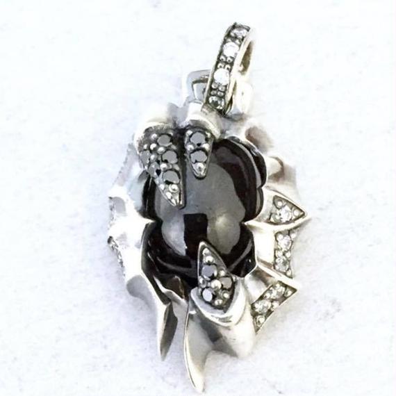 [Artemis Classic-pendant]☆残り3点☆★蛇骨堂限定販売★ミニブラックスターチャーム(ペンダントトップ)