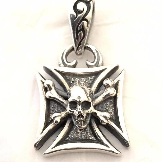 [Atelier Shima-pendant]Maltese Cross Pendant (Normal)