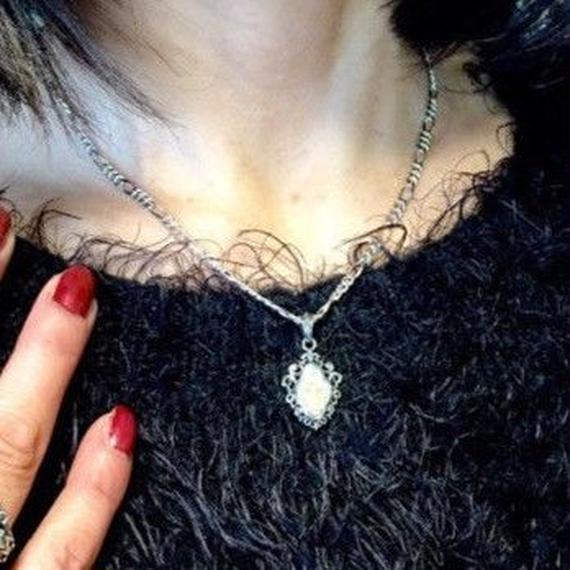 [Artemis Kings-pendant]アンティークマリアペンダント