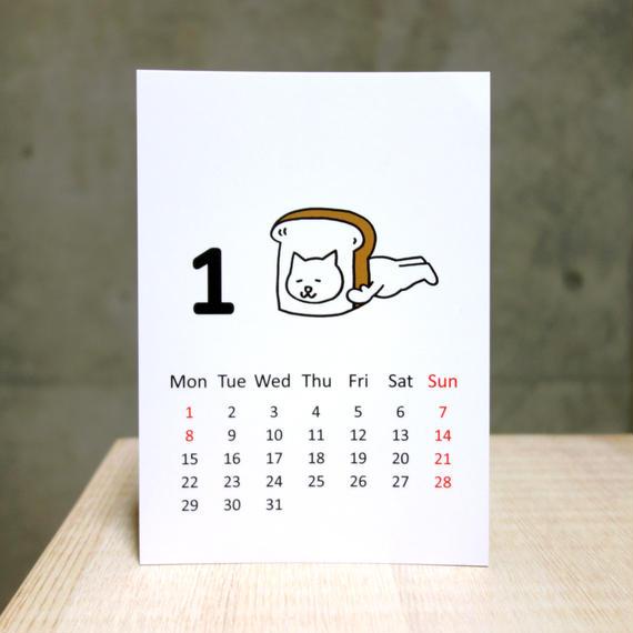 2018 Calendar 10月末頃に販売再開予定