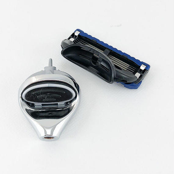 カミソリヘッドのアタッチメント交換品(ジレットヒュージョン5)