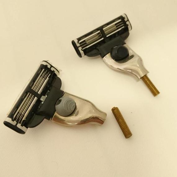 カミソリヘッドのアタッチメント交換品(ジレットマッハ3・3枚刃)