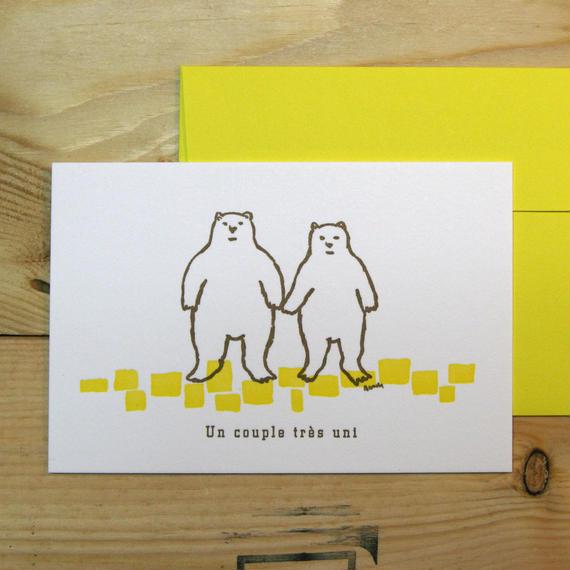 クマなかよしカップル