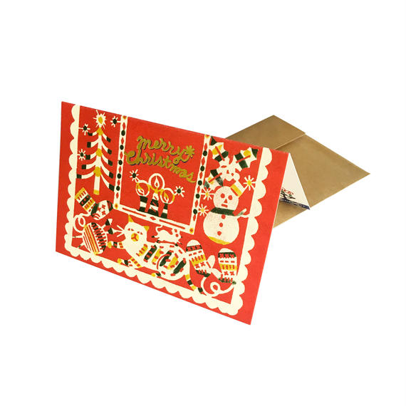 クリスマスカード:あたたかい冬