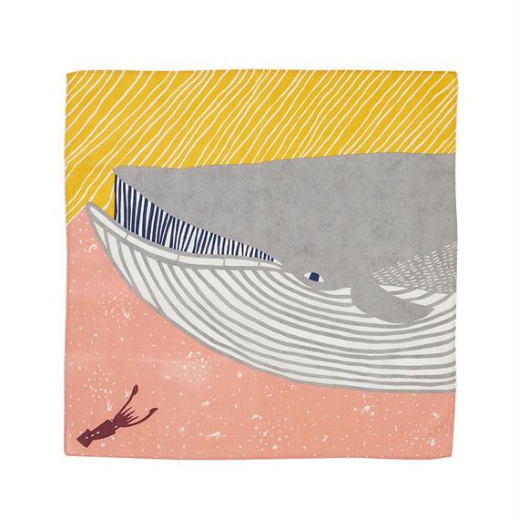 50cm ふろしき ナガスクジラ ピンク