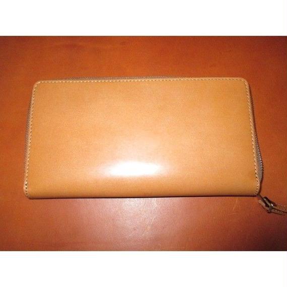 ブライドルレザー 大型長財布&クラッチ多機能 オリジナルデザイン
