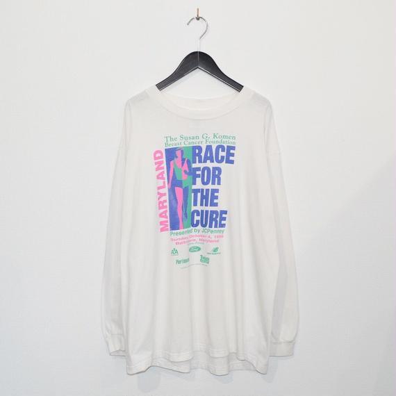90s Company Logo Print L/S T-shirt