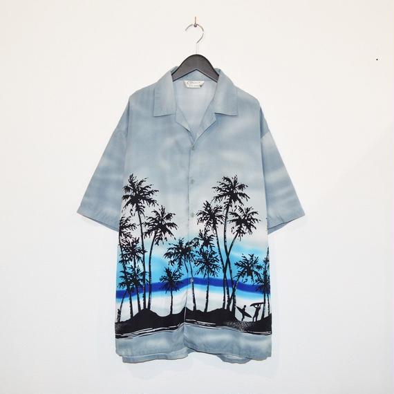 Sky Blue Aloha Shirt