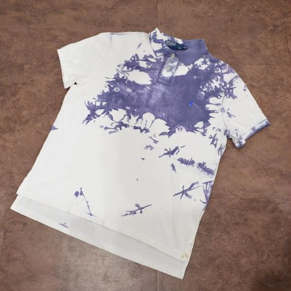 Bleach Design Polo Ralph  Lauren  Polo Shirt