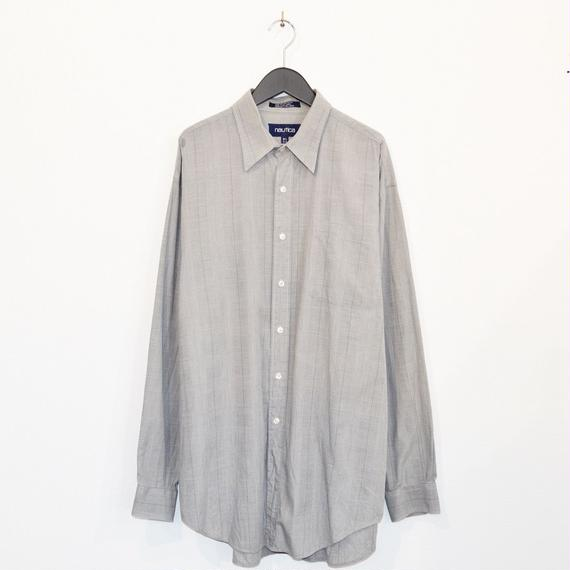 nautica glencheck L/S cotton shirt