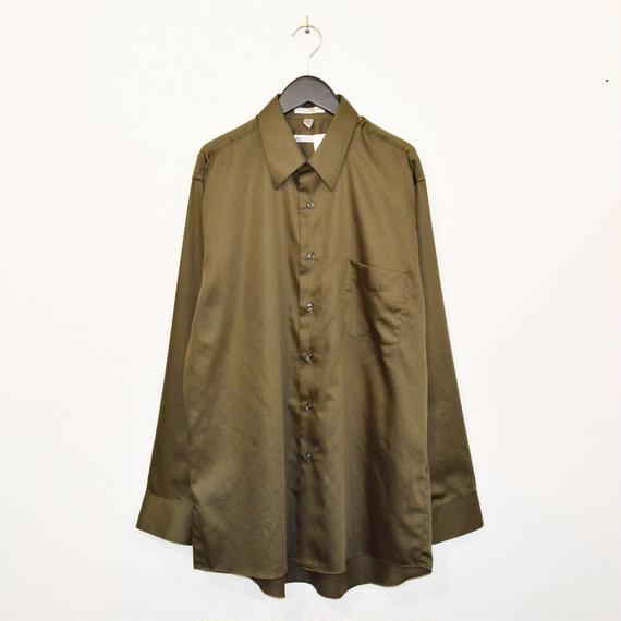 Olive color plain L/S shirt