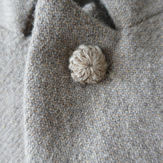 ichiAntiquités 100624 Wool mix Tweed Jacket Coat / BEIGE