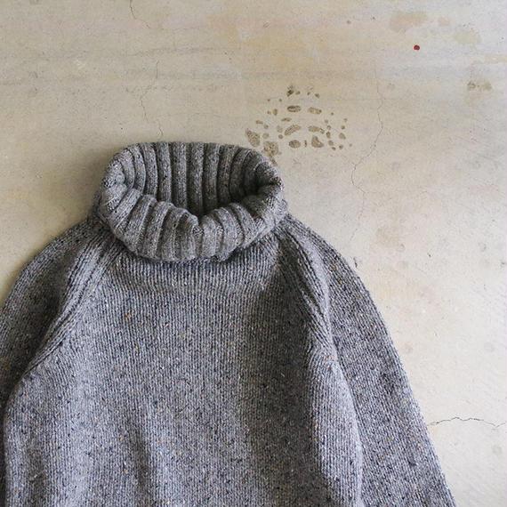 i c h i 180671 Nep Turtle Neck Pullover / Gray