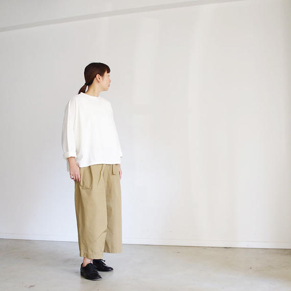 i c h i 181034 Cotton Chino Pants / Beige