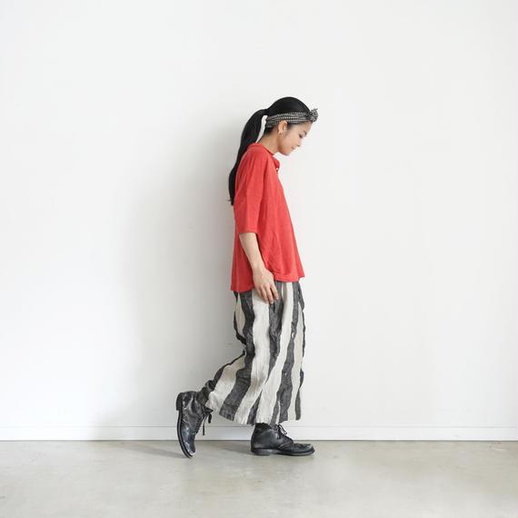 ichiAntiquités 100926 Linen KOTOHIRADAKI Pants / STRIPE