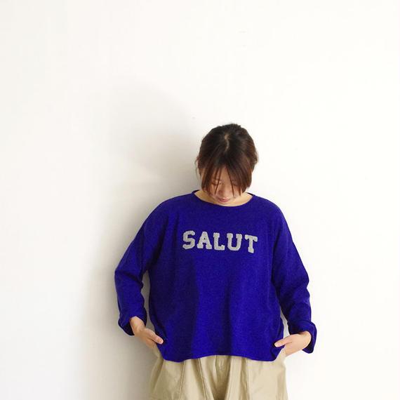 """i c h i 180472 """"SALUT"""" Pullover / Blue"""