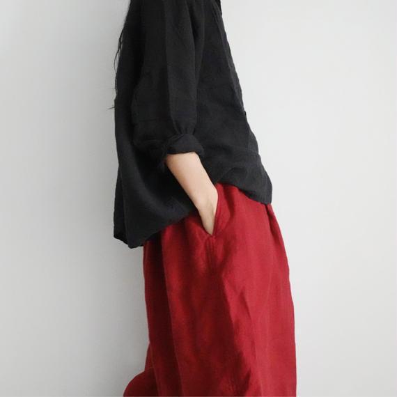 ichiAntiquités 100622 Linen Pants / RED