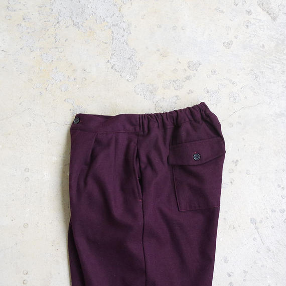i c h i 180625 Pants / Bordeaux