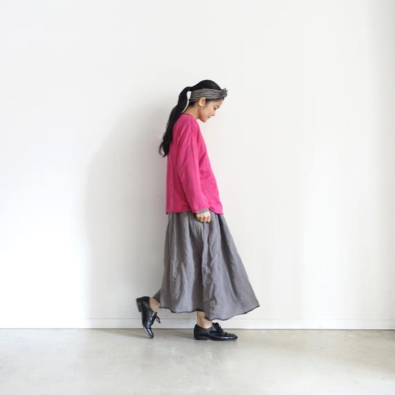 ichiAntiquités 100955  Linen Knit Pullover / PINK
