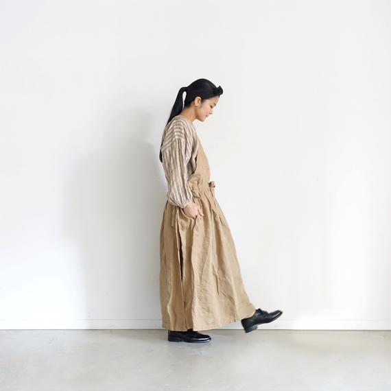 ichiAntiquités 100929 Linen Chino 2way Dress / BEIGE