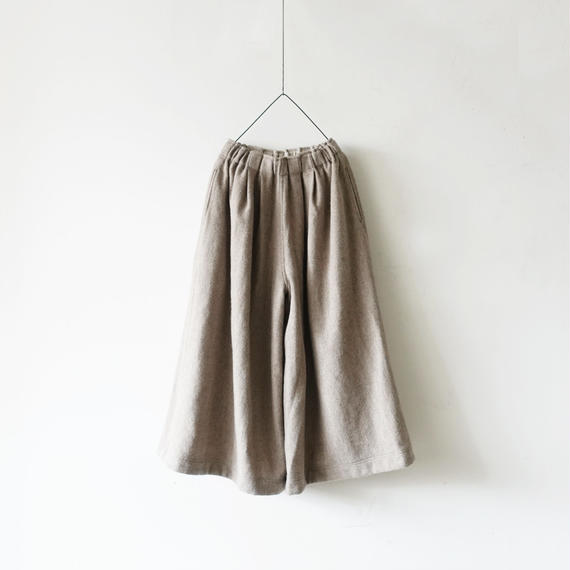 ichiAntiquités 100625 Wool mix Tweed Pants / BEIGE
