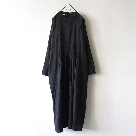 i c h i 181012 Pin Tuck Dress / Black