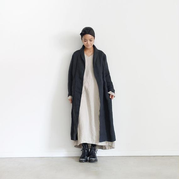 ichiAntiquités 100601 Linen Dress / NATURAL