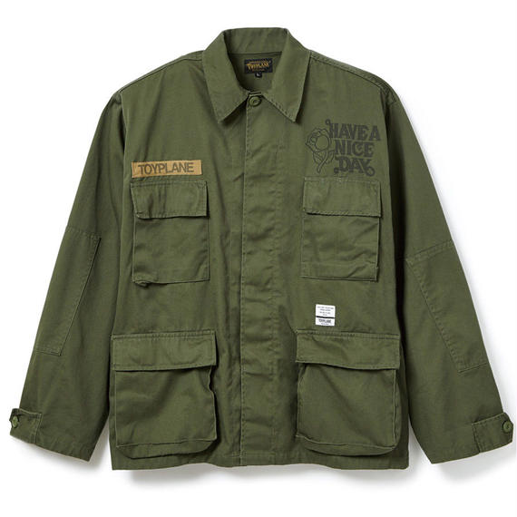 WIDE BDU SHIRT JACKET