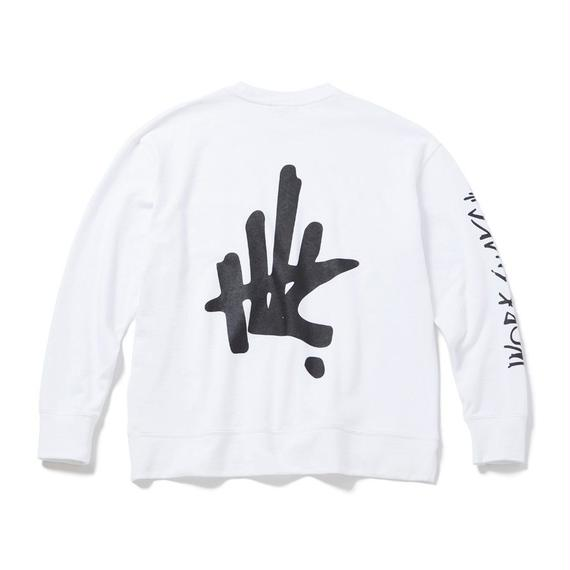ATTITUDE CREW NECK WIDE SWEAT